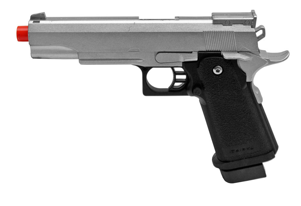 G6 Spring Airsoft Pistol - Silver