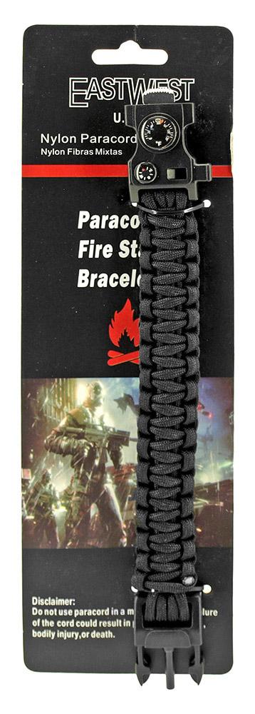 Master Sergeant Paracord Utility Bracelet  - Black