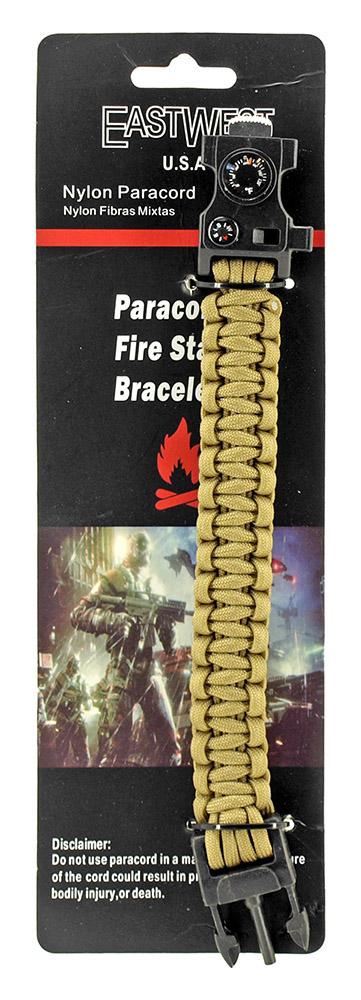 Master Sergeant Paracord Utility Bracelet  - Desert Tan
