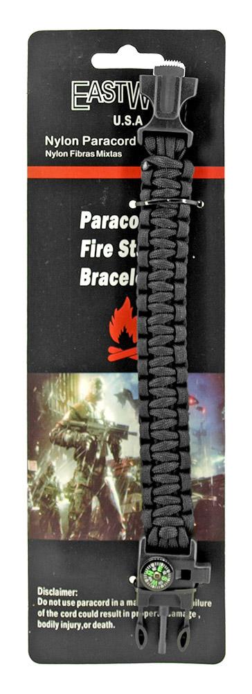 Sergeant Paracord Utility Bracelet  - Black
