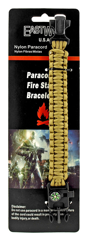 Sergeant Paracord Utility Bracelet  - Desert Tan