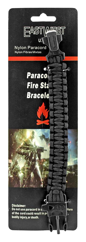 Specialist Paracord Utility Bracelet - Black
