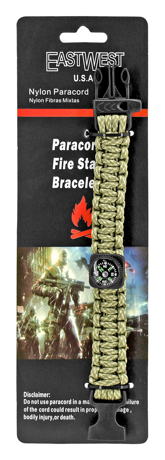 Private First Class Paracord Utility Bracelet - Digital Camo