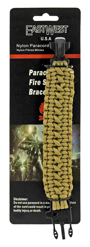 Corporal Paracord Utility Bracelet  - Desert Tan