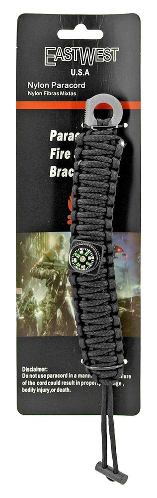 Staff Sergeant Paracord Utility Bracelet  - Black