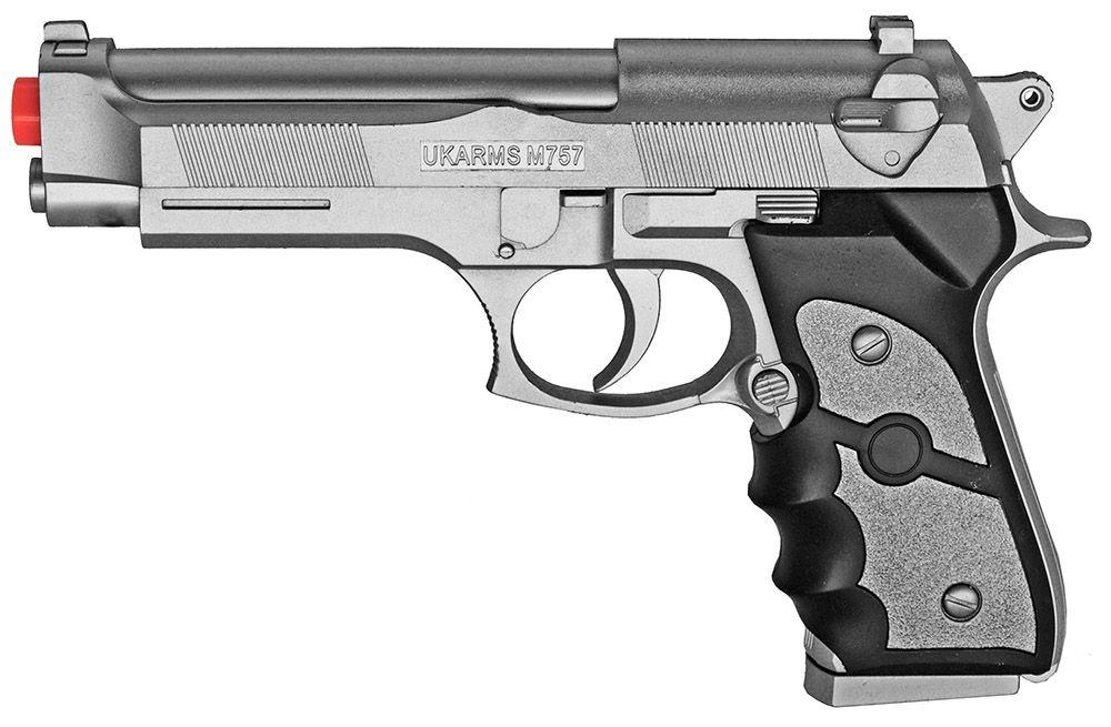 M757S Spring Airsoft Handgun