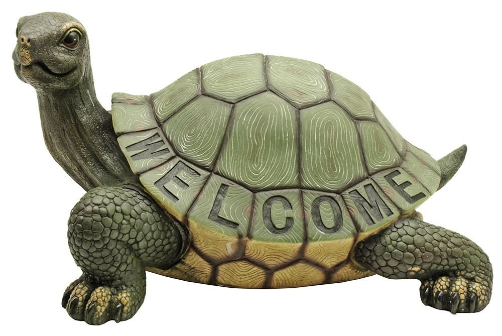 Turtle Greeter Welcome Statue