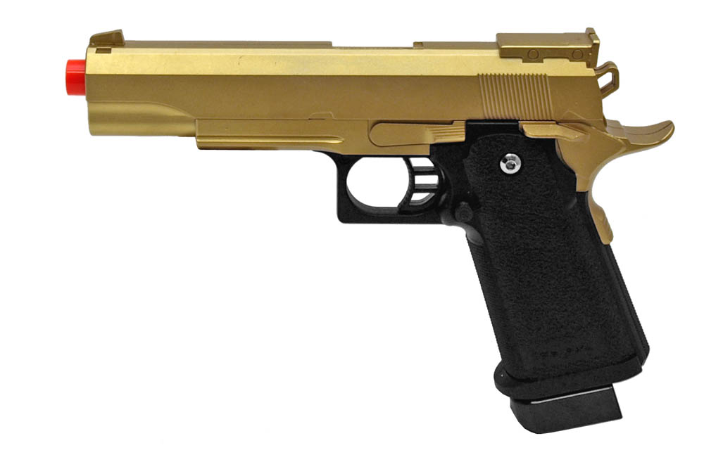 G6 Spring Airsoft Pistol - Gold