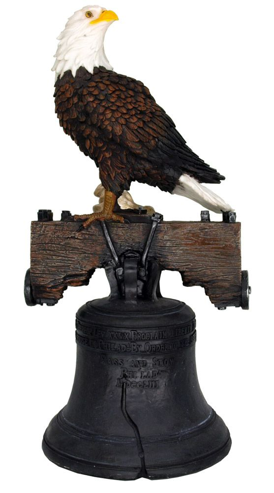 Let Freedom Ring Eagle Statue
