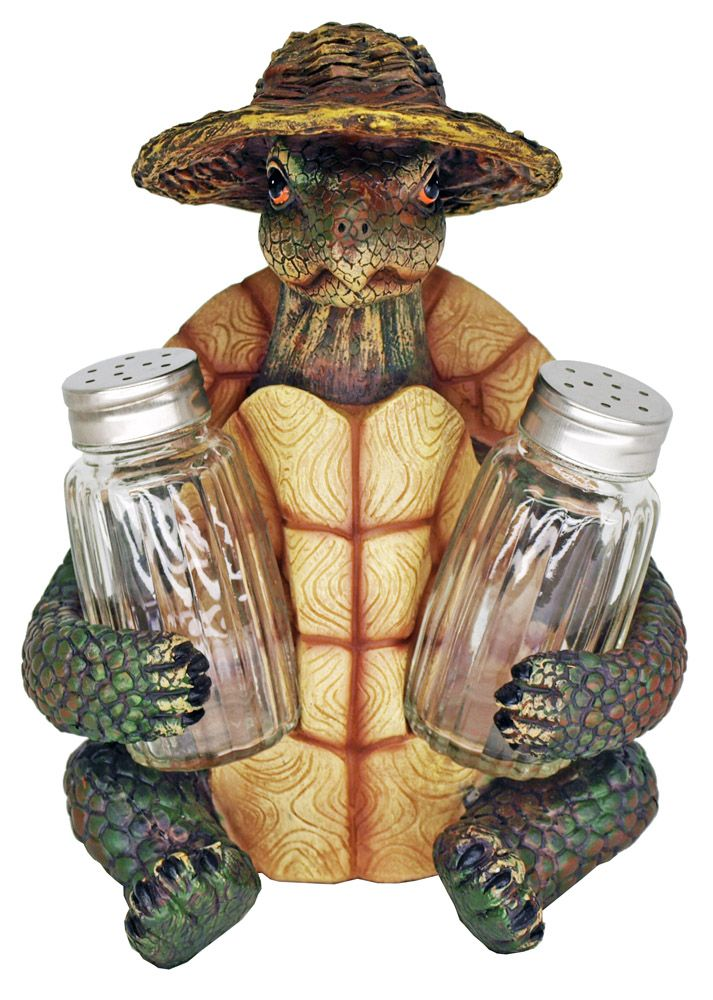 Turtle Soup Salt & Pepper Shakers