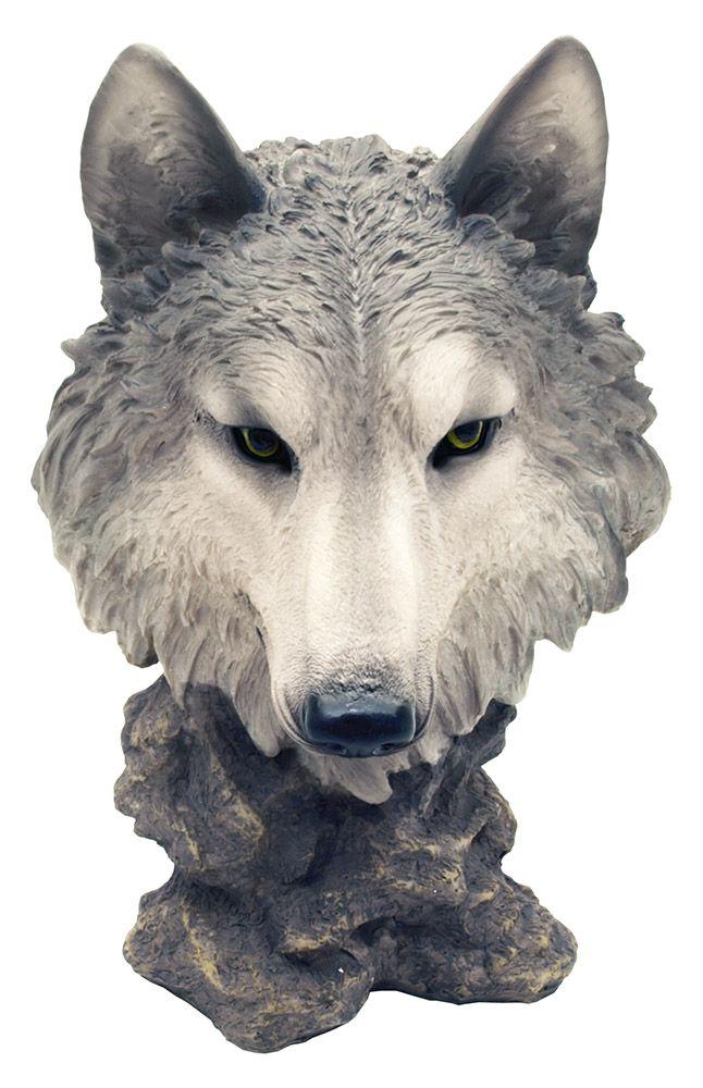 Gosheven Wolf Statue