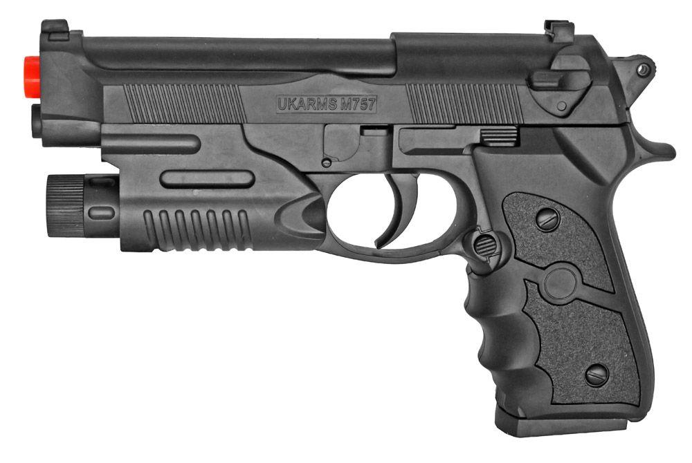 M757R Spring Airsoft Handgun