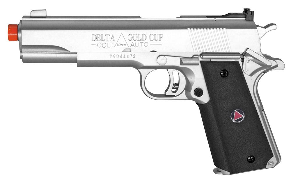 Colt Delta Elite Spring Airsoft Hand Gun Silver