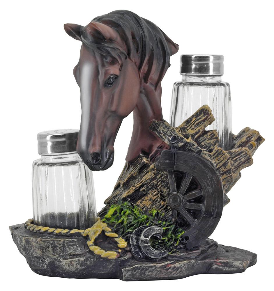 Equine Spice Salt & Pepper Shaker