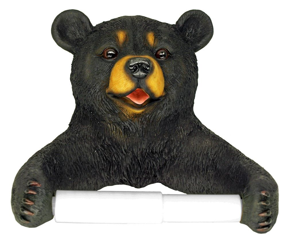 Hugo Bear Toilet Paper Holder
