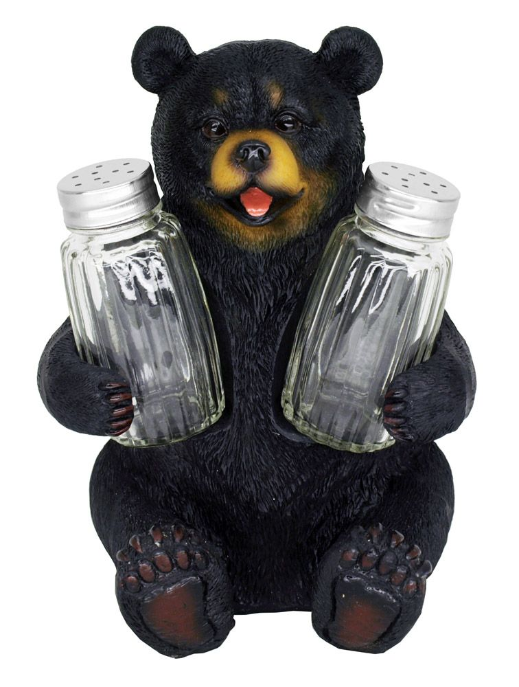 Beary Seasoned Salt & Pepper Shakers