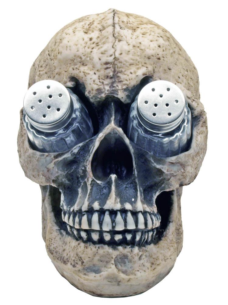 Deadly Devourings Skull Salt & Pepper Shakers