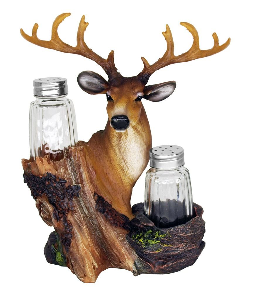 Salt Lick Deer Salt & Pepper Shakers