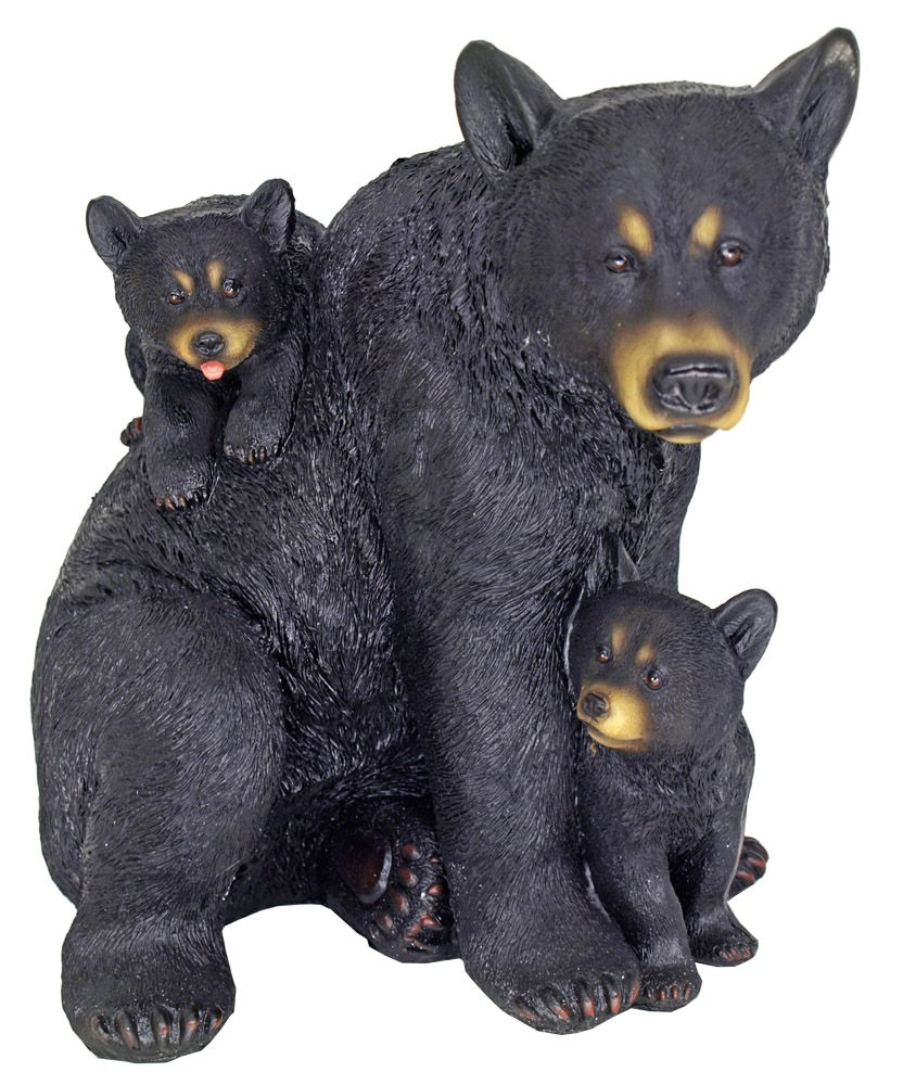 Terrible Two Baby Bears Statue