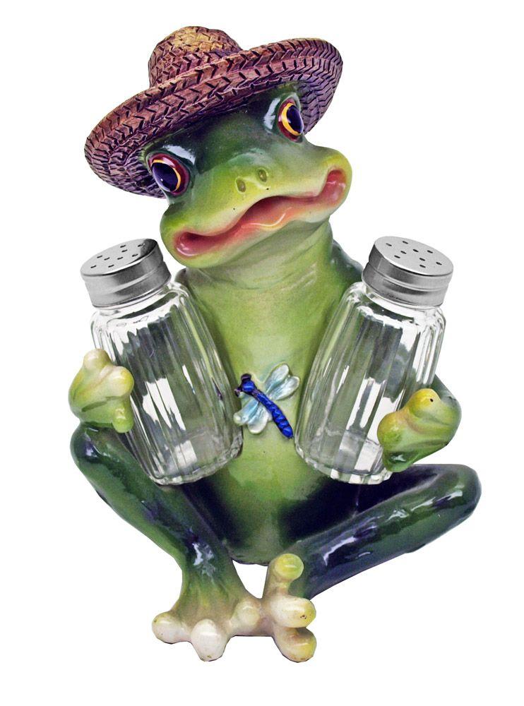 Froggie Flavoring Salt & Pepper Shakers