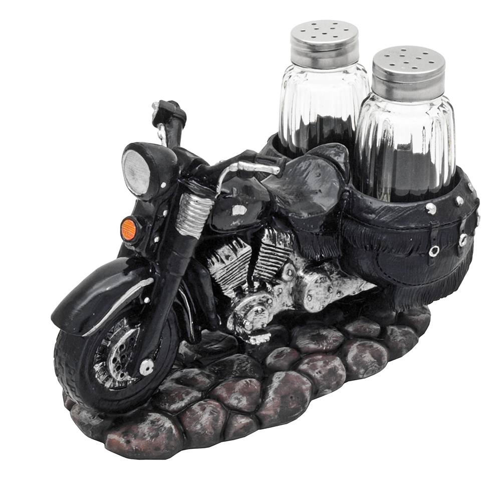 Spice The Open Roads Motorcycle Salt And Pepper Shaker