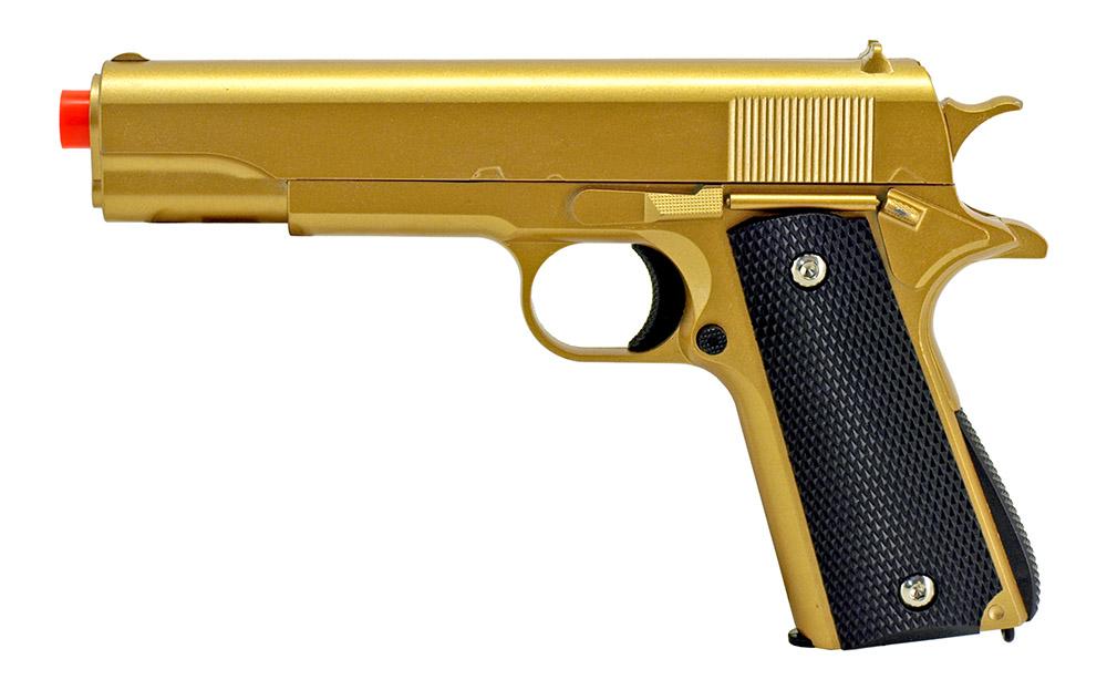 G13G Spring Powered Airsoft Handgun - Golden