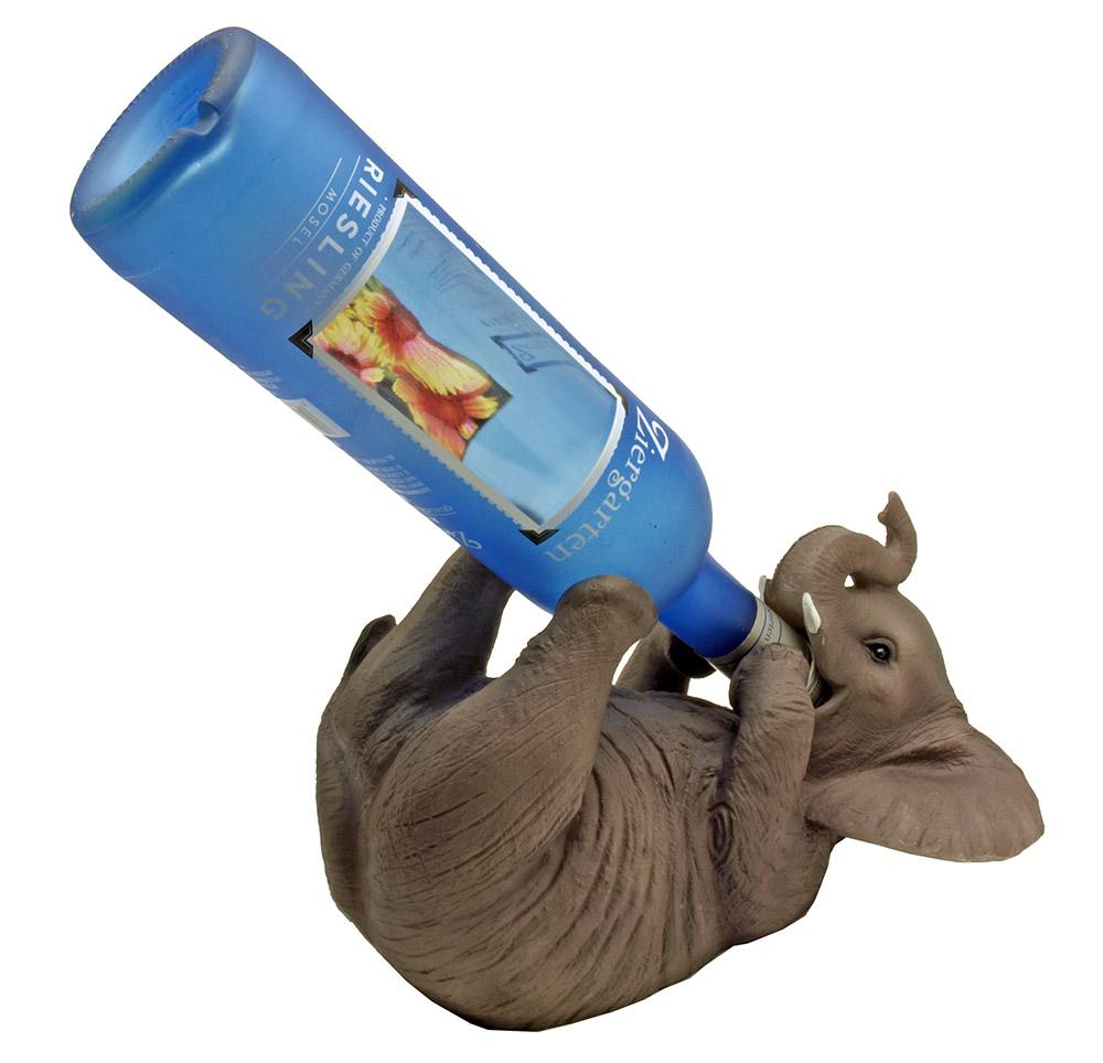 Pachyderm Potables Elephant Wine Holder