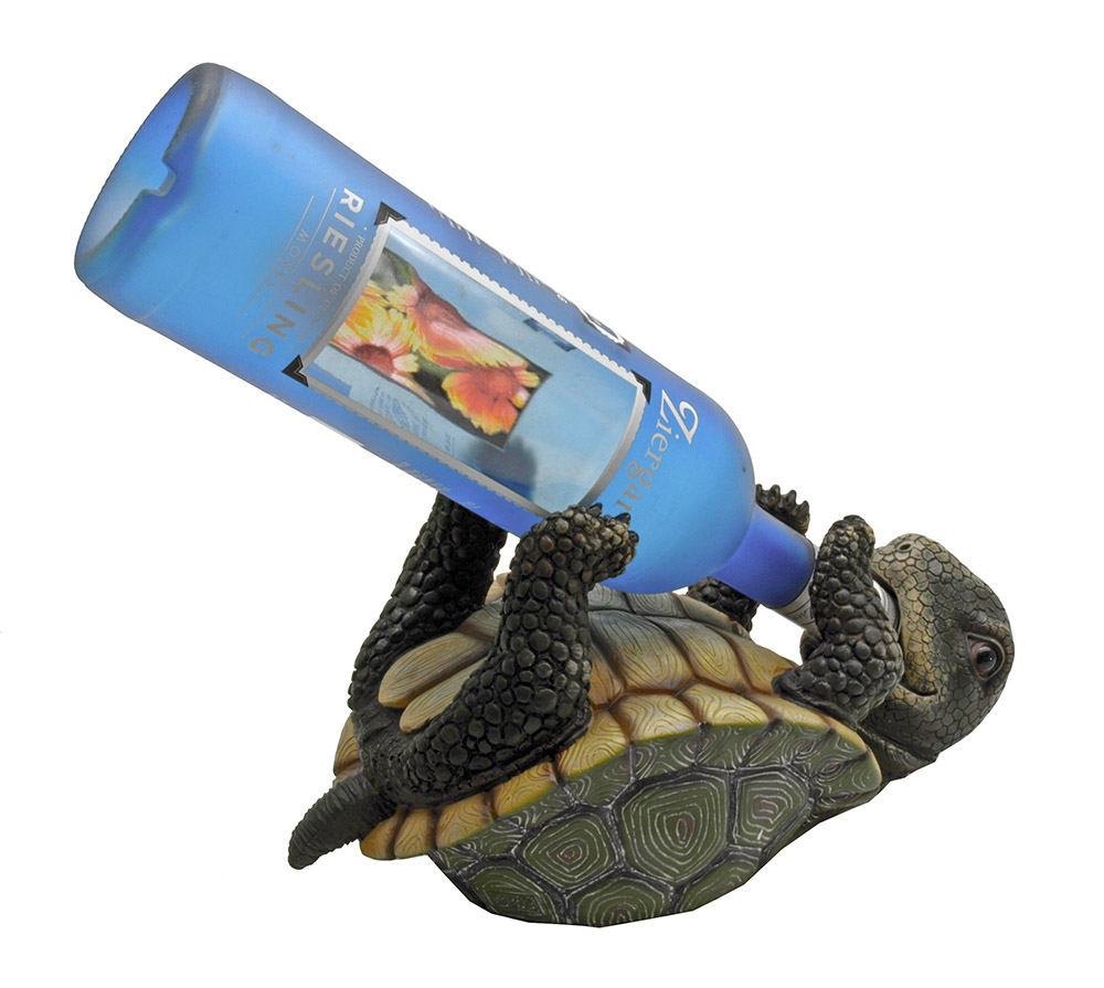 Slow But Steady Turtle Wine Holder