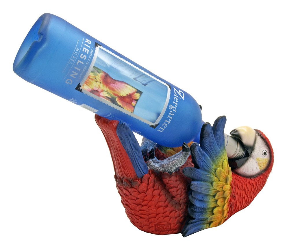 Polly Wino Parrot Wine Holder