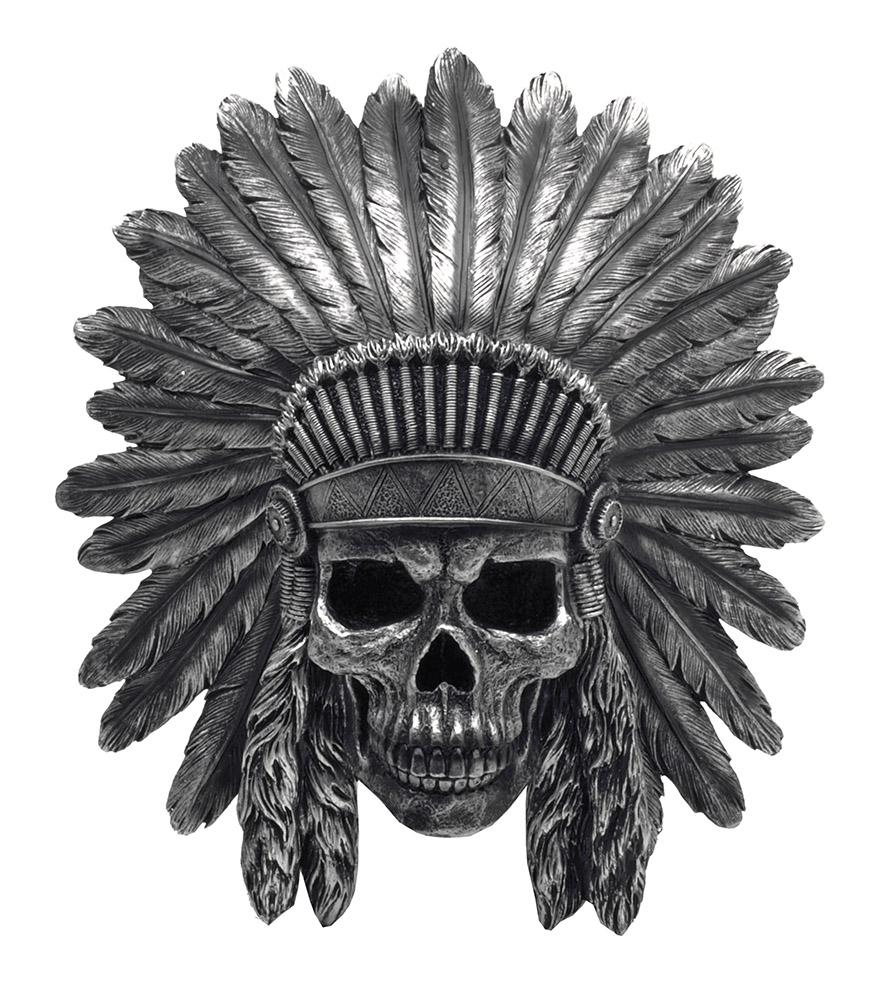War Path Hanging Indian Skull