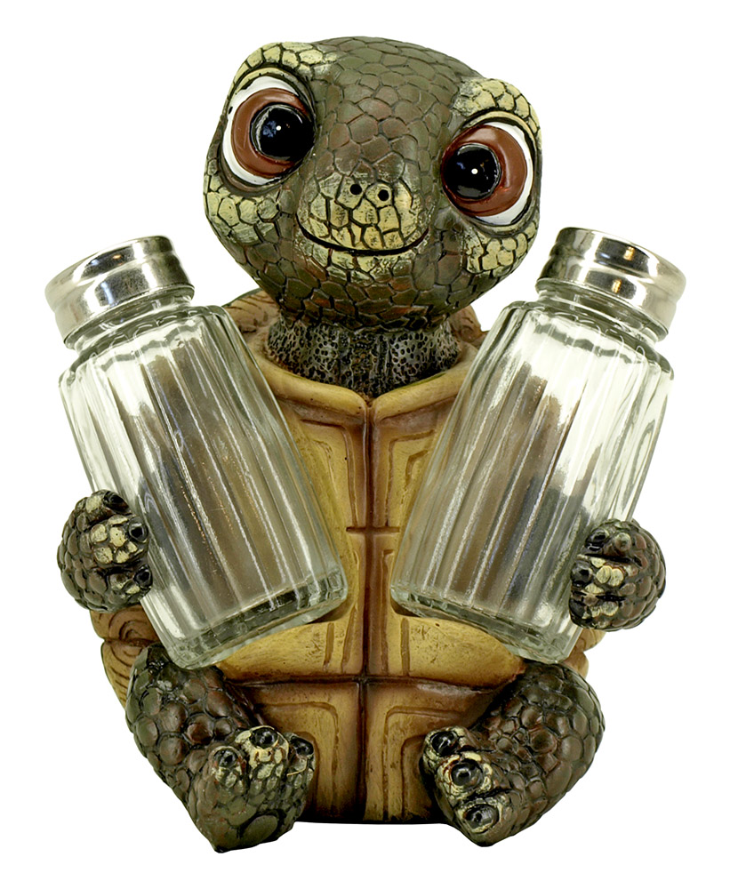 Shello Spice Turtle Salt & Pepper Shaker