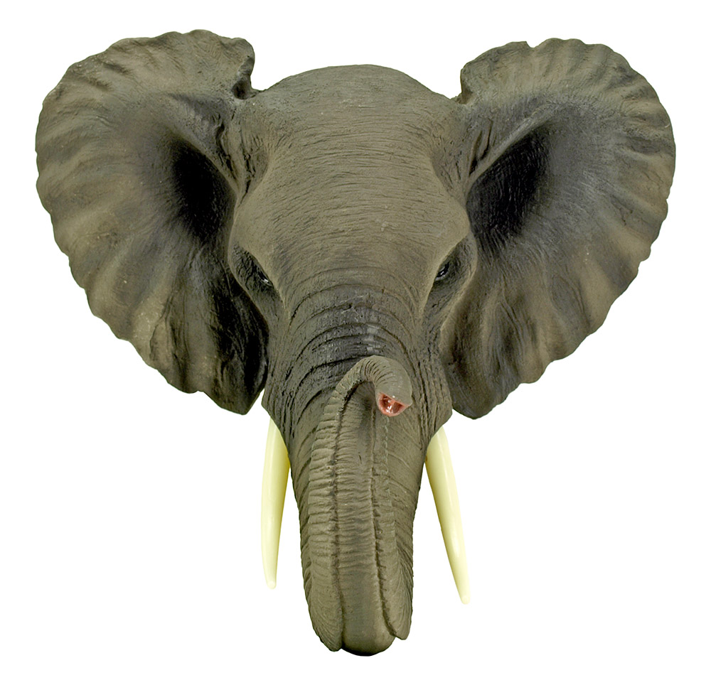 Safari Wild - Elephant Wall Mount