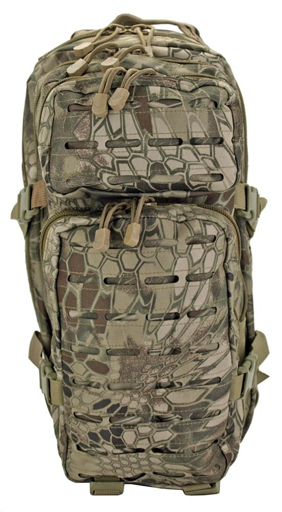 Medium Assault Tactical Backpack - Green Web Camo