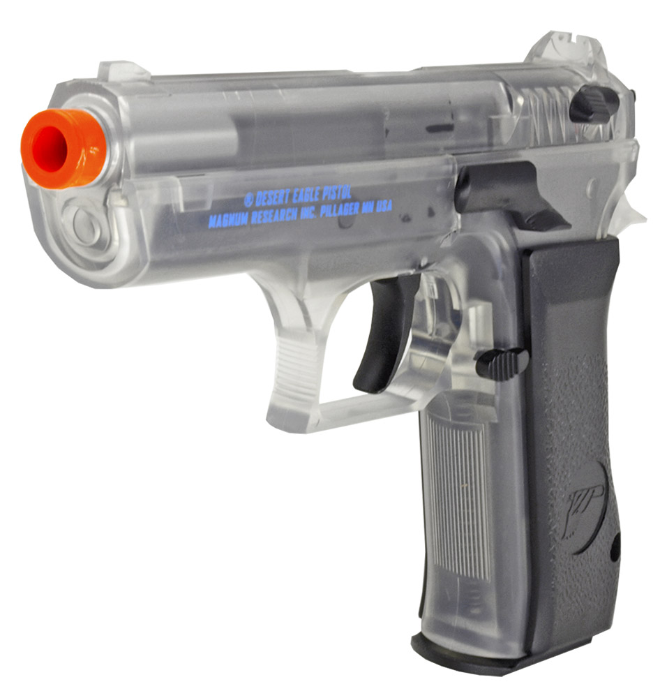 Magnum Baby Desert Eagle Co2 Airsoft Pistol Clear
