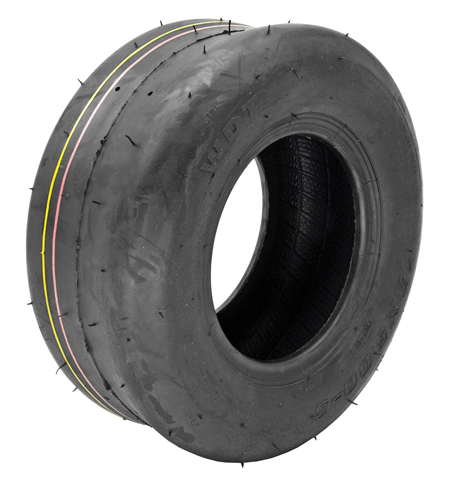 13 x 5.00-6 4 Ply Tubeless Smooth Tire