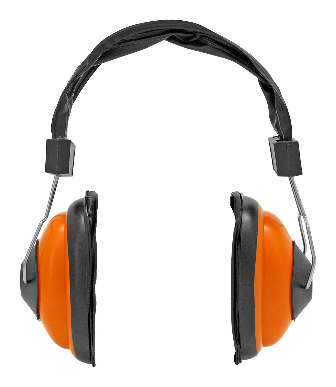 Professional Quality Ear Muffs - Orange