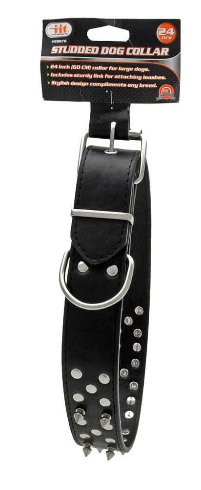 24 in Studded Dog Collar