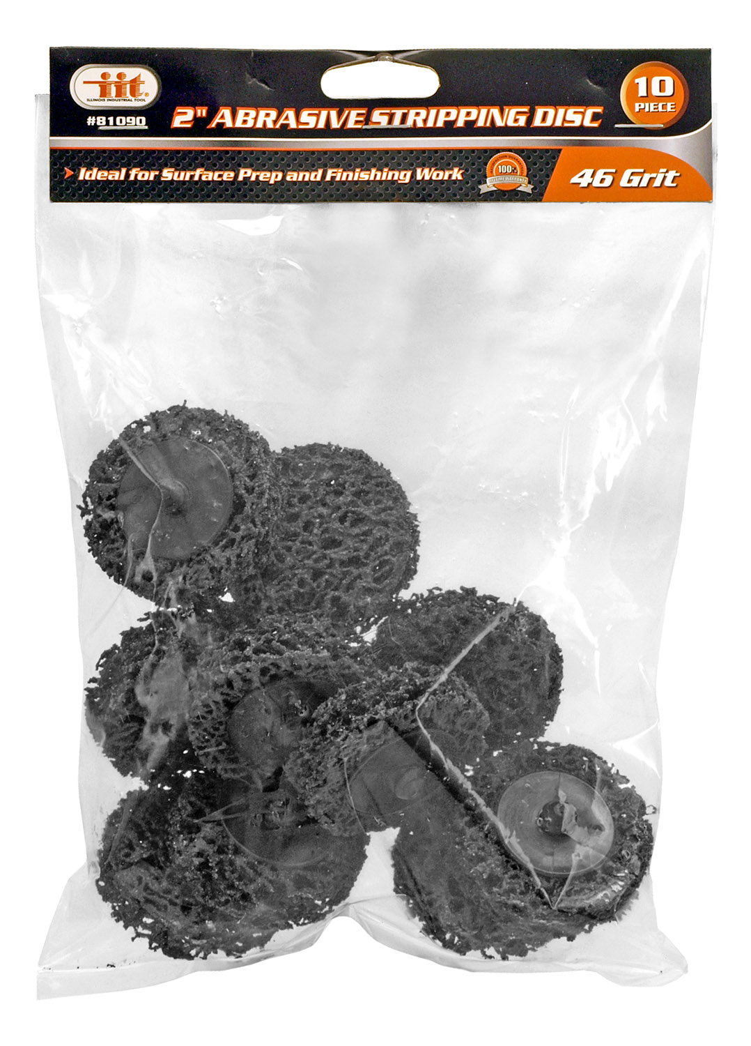2 in Abrasive Stripping Discs - 10pcs.
