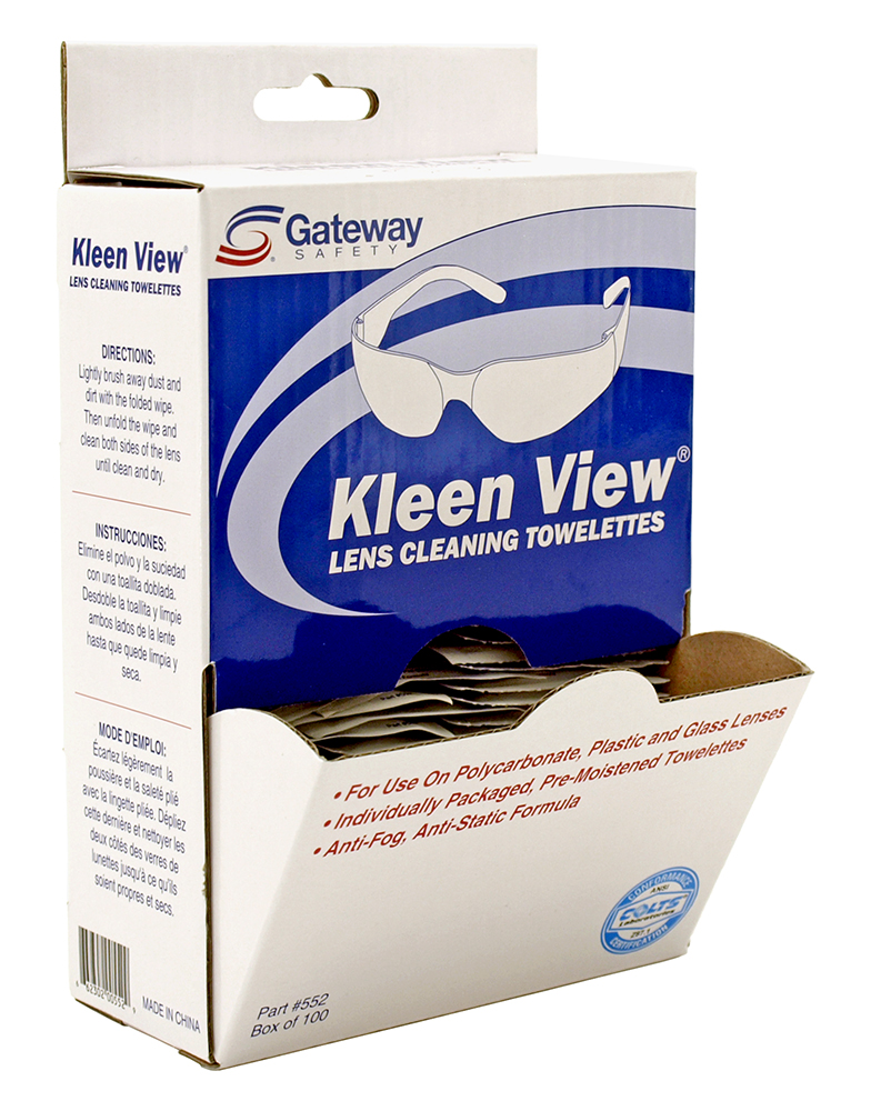 100 - pc. Kleen View Lens Cleaning Towelettes