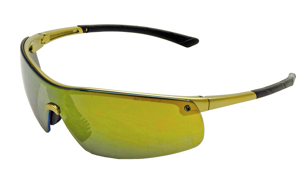 Ingot Safety Glasses - Gold