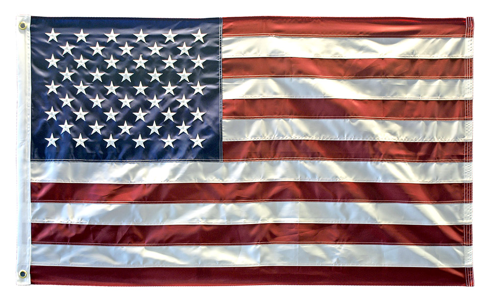 3' x 5' Embroidered American Flag
