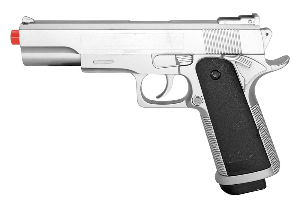 G153S Spring Airsoft Pistol - Silver