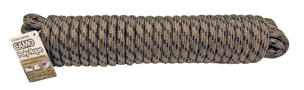 1/2 in x 50 Ft. Camo Braided Poly Rope