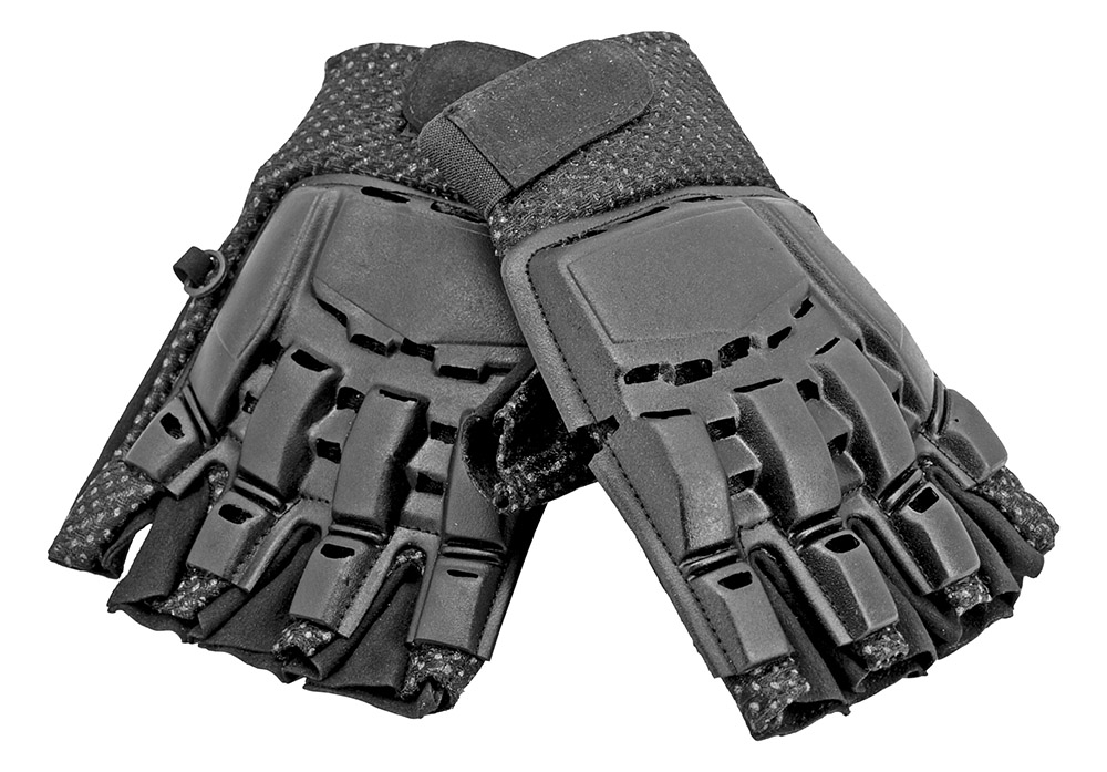 Tactical Military Shooting Protection Half Finger Gloves - Medium