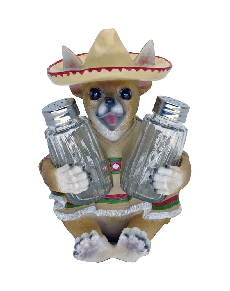 Fiesta Flavor Chihuahua Salt and Pepper Holder