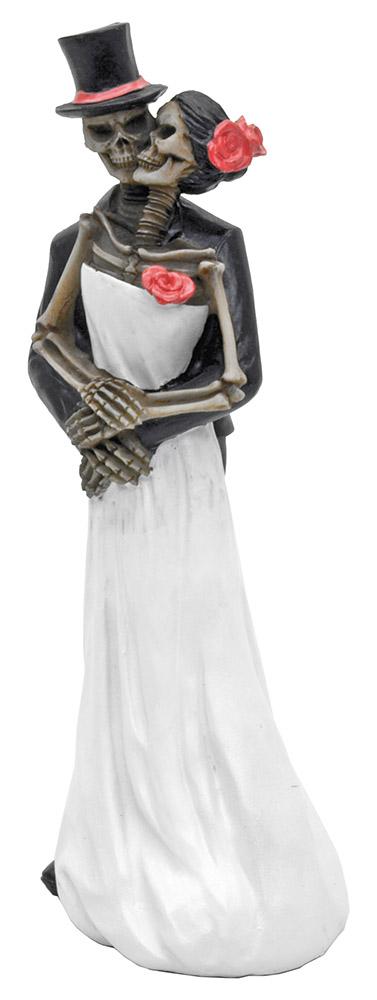 Till Death Sugar Skull Wedding Figurine