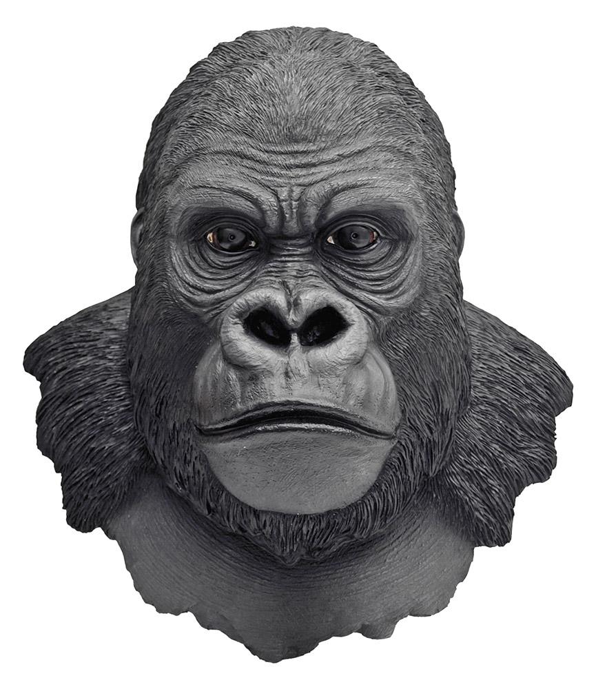 Silverback King Gorilla Bust