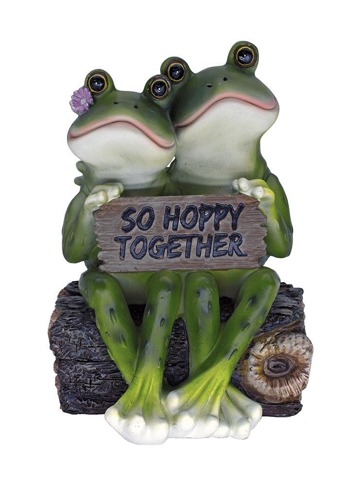 So Hoppy Frog Statue