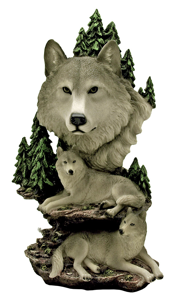 Wolves Legacy - Wolves Statue