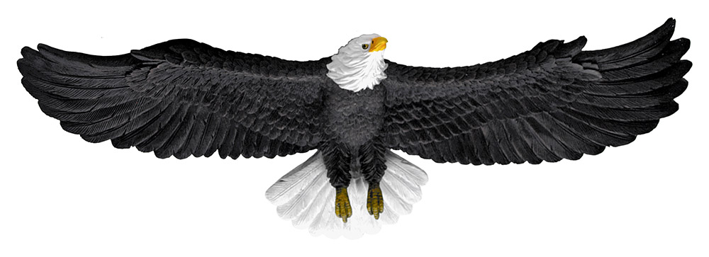 Wings of Freedom - Eagle Statue